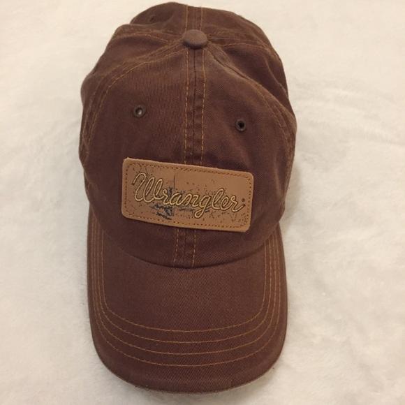 e3e028954d8d1 Wrangler brand baseball cap hat